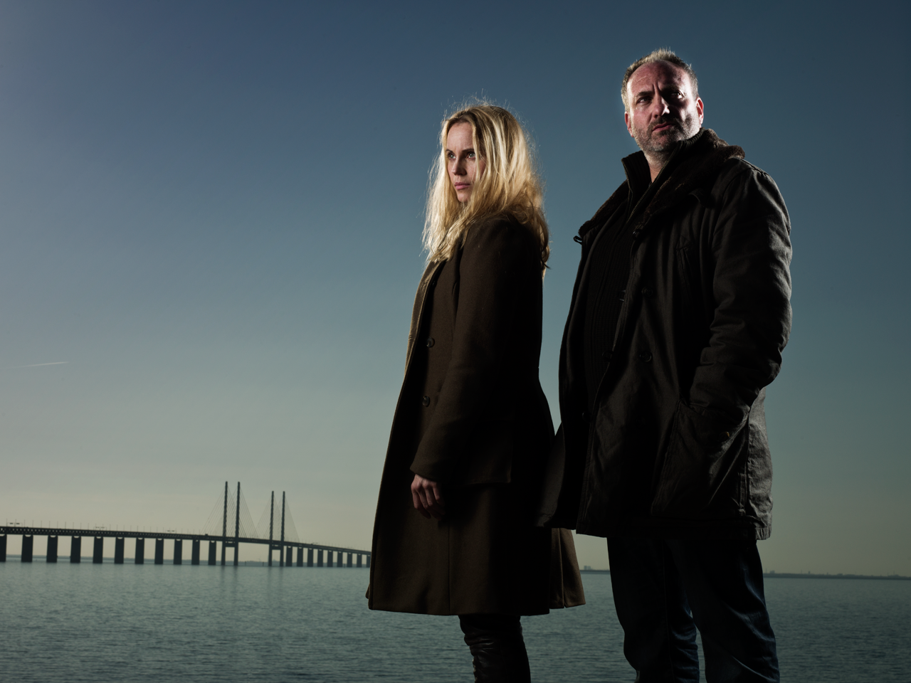 Scandinavian Noir TV series: Bron or Broen or The Bridge