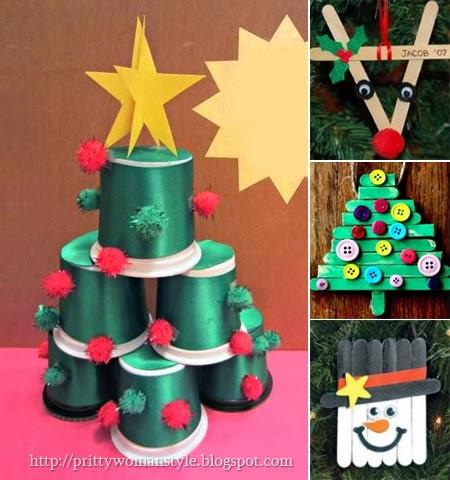 Коледна украса за децата
