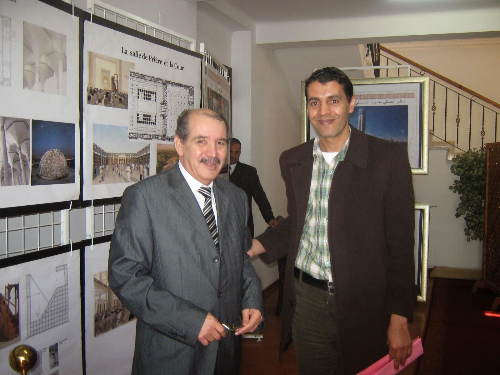 مشروع جامع الجزائر الأعظم: إعطاء إشارة إنطلاق أشغال الإنجاز - صفحة 3 +لخضر+علوي