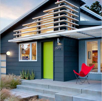 Fachadas de casas modernas todo para dise ar una hermosa for Colores para frentes de casas modernas