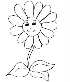 Dibujos de Primavera para Pintar, parte 2