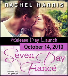 Release Day Launch: Seven Day Fiance by Rachel Harris