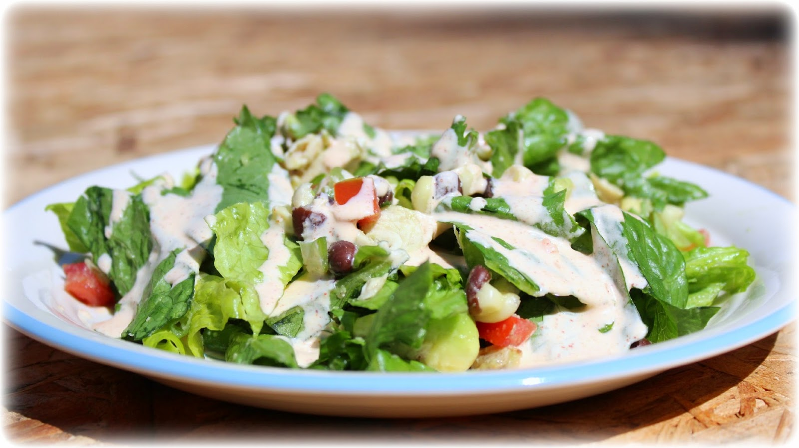 Southwest Chopped Chicken Salad: AJcrazies by AJK