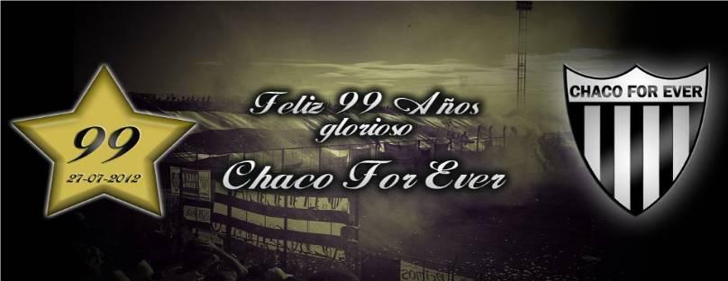 CHACO FOR EVER,SI NO TE VEO SE ME PARTE EL CORAZON
