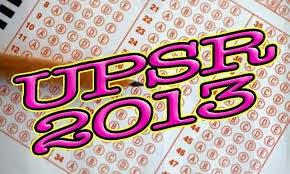 Keputusan Ujian Pencapaian Sekolah Rendah (UPSR) 2013 akan diumumkan