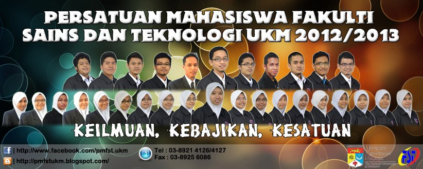 PMFST UKM 2012/2013