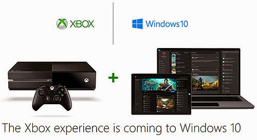 Xbox One on Windows 10 laptops, tablets and beyond.
