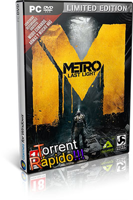 Baixar o Jogo Metro Last Light PC (Crack BY RELOADED) Completo Full