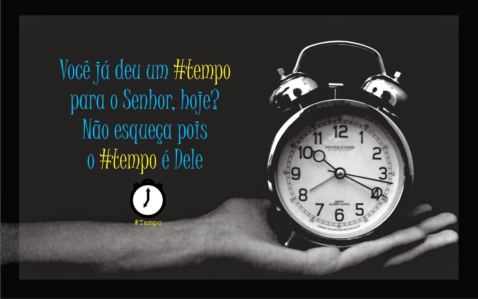 Wallpaper Ministério #Tempo