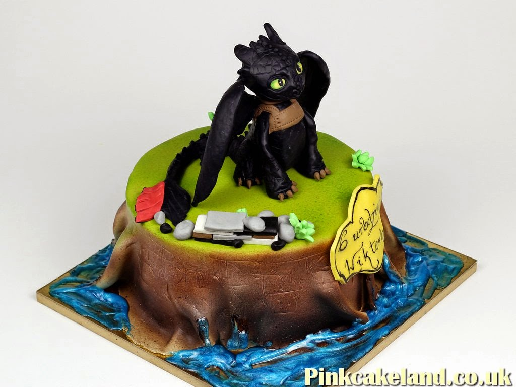 Dragons Riders of Berk Birthday Cake, London