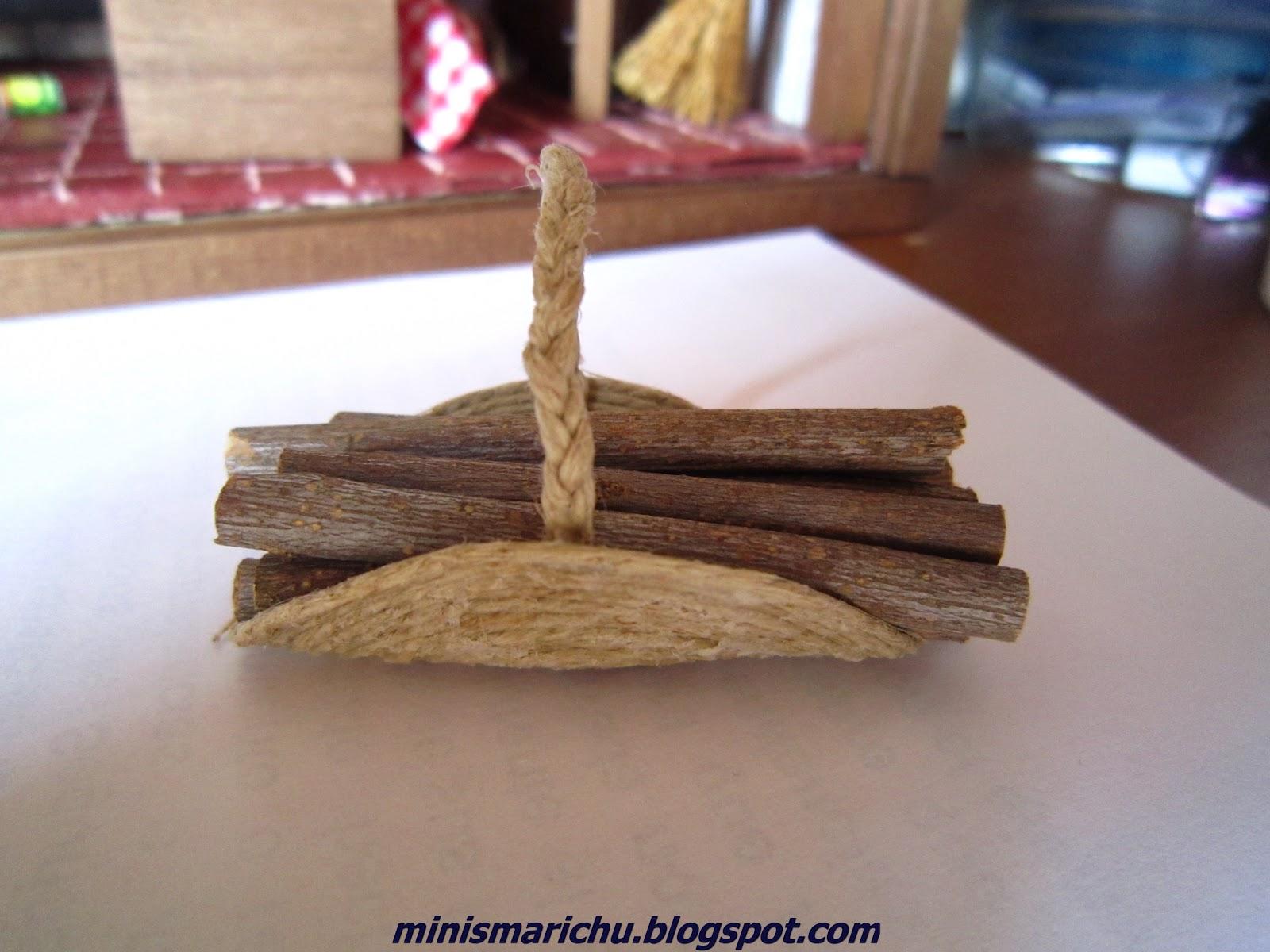 Las minis de marichu cesta le a for Cestas para lena