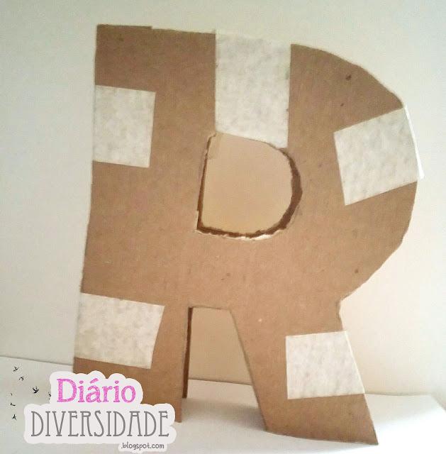 Como fazer letras em 3D