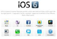 iOS6 per iPhone e iPad