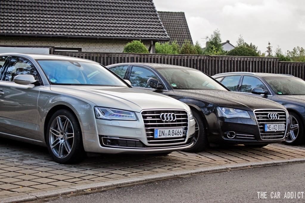 Audi A8 2010 VS Audi A8 2013