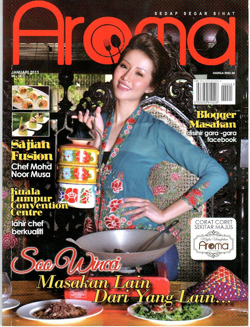 RESEPI AMIE'S LITTLE KITCHEN DI MAJALAH AROMA JAN 2013