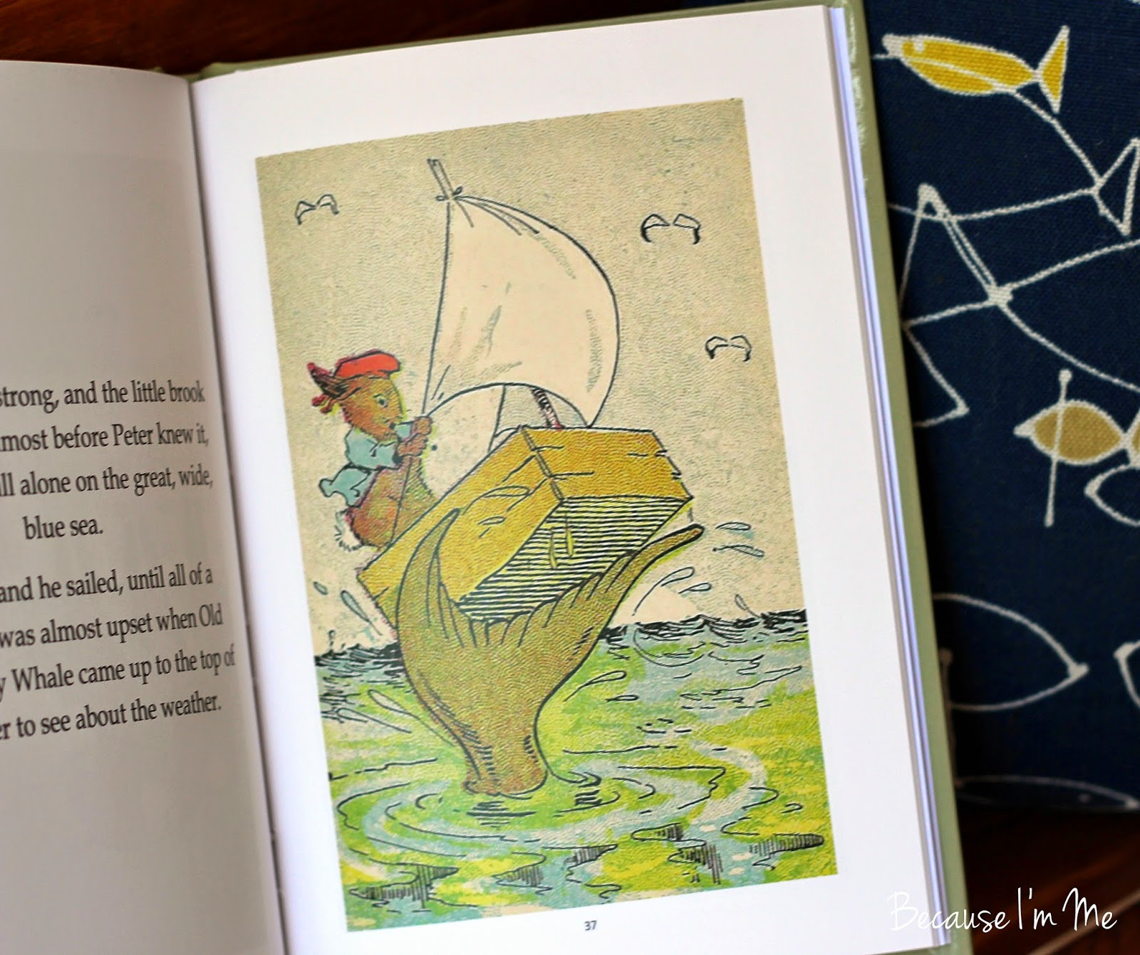 Because I'm Me How Peter Rabbit Went to Sea review, ages 3-9, read aloud