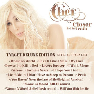 'Closer To The Truth' 'Target Deluxe Edition' tracklist