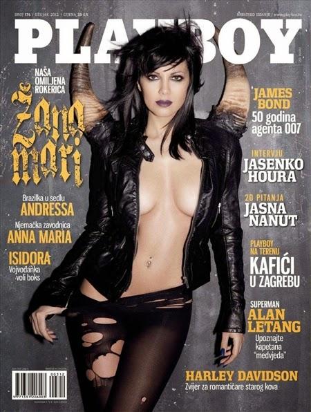 Zanamari Lalic – Playboy Croatia