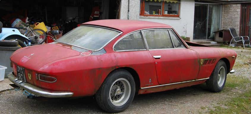 65 Ferrari 330GT 2+2 (Four seater) Berlinetta