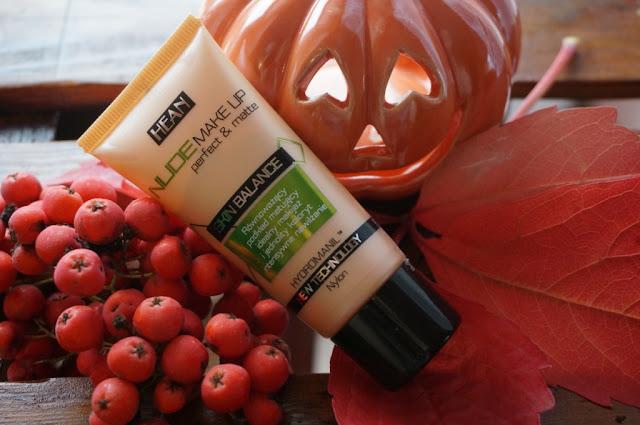 Nude Make-up Hean - delikatne krycie i naturalny wygląd