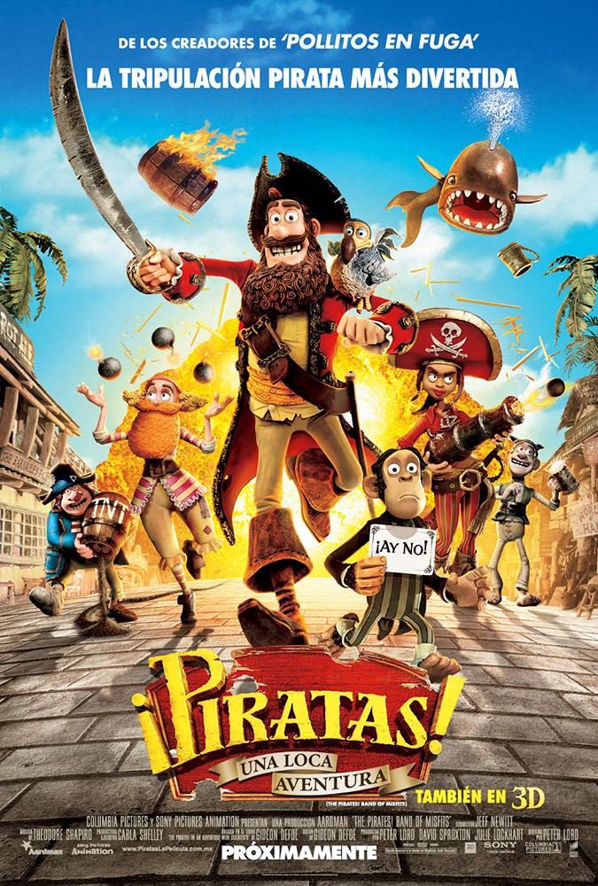 Piratas una loca aventura descargar caratula dvd ver for El mural pelicula descargar