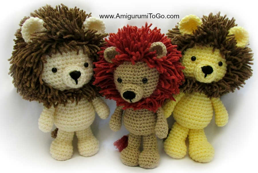 Little Amigurumi Lion : Error 404 (Not Found)!!1