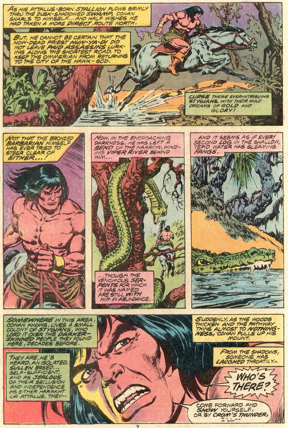 Conan the Barbarian (1970) Issue #82 #94 - English 3
