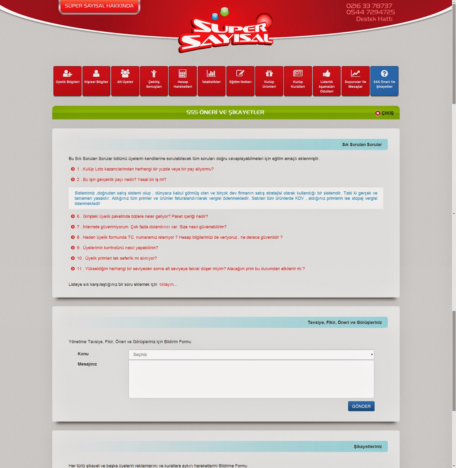 Responsive Tasarım - SüperSayısal - Ana Sayfa