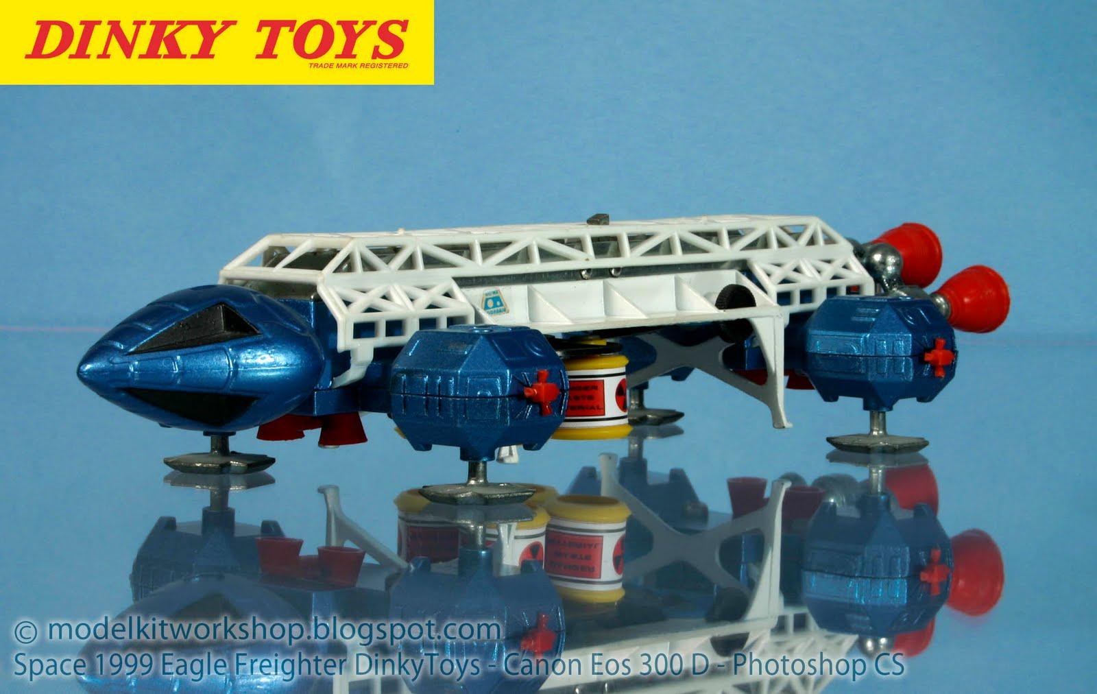 MODELKIT WORKSHOP: SPACE 1999 EAGLE : Dinky Toys