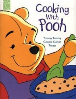 libro escandalo de cocina con oso pooh