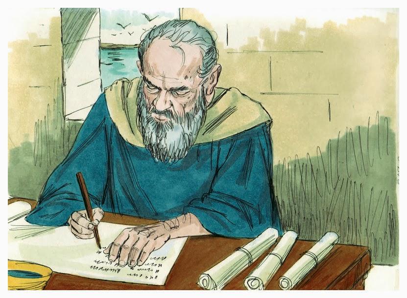 Jan na wyspie Patmos