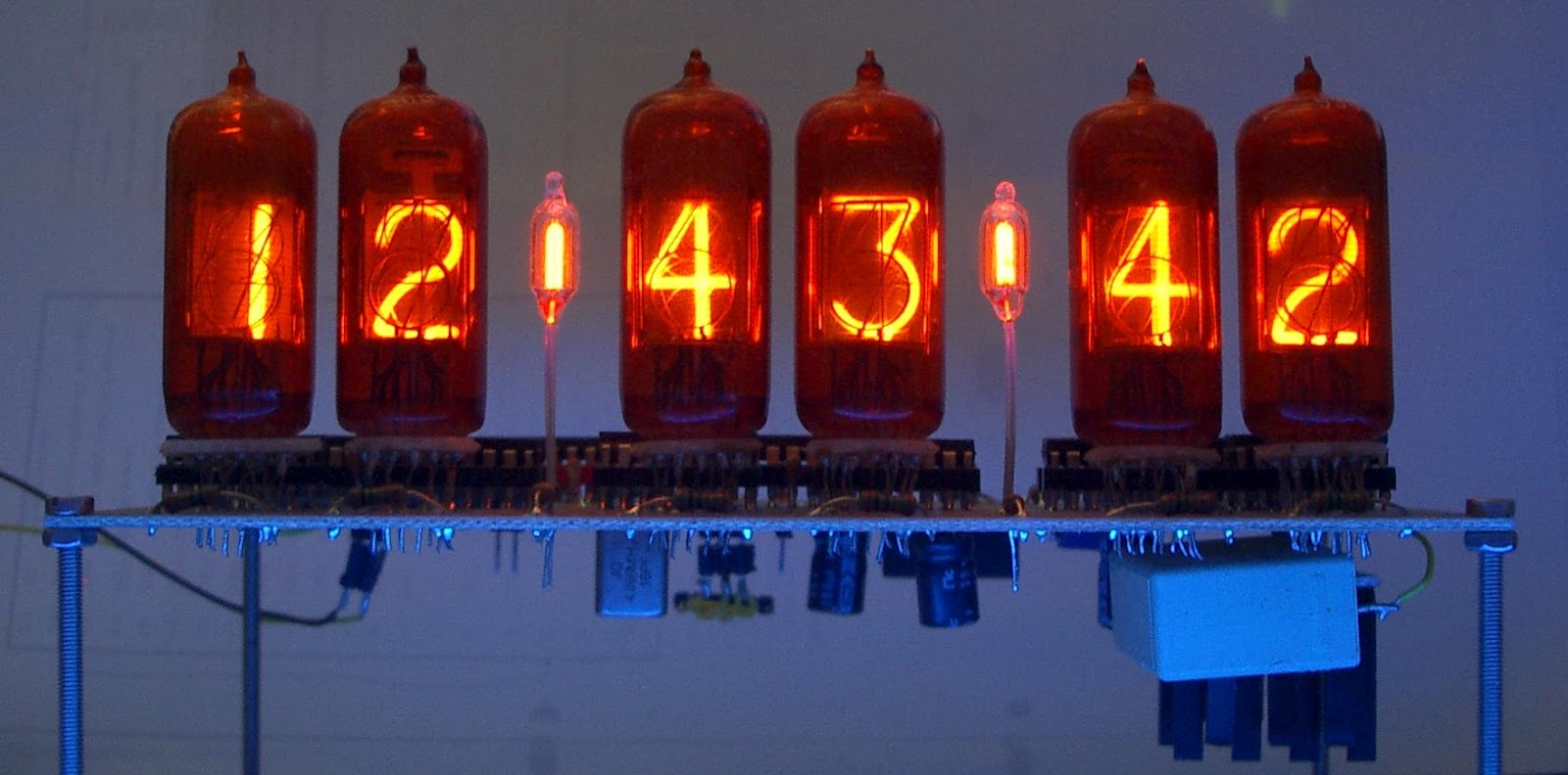A Future Path Not Taken The Magic Of Nixie Clock