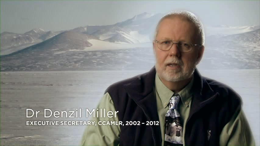 Denzil Miller - Executive Secretary CCAMLR 2002-12.