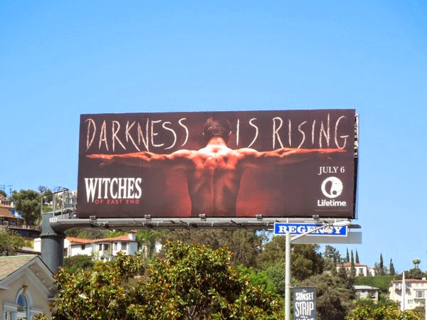Witches of East End Darkness is rising season 2 billboard