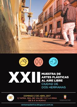 BASES XXII MUESTRA DE ARTES PLÁSTICAS AL AIRE LIBRE CIUDAD DE DOS HERMANAS. TFNO.: 955678195