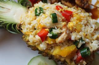 Resep dan cara membuat Nasi Goreng Nanas