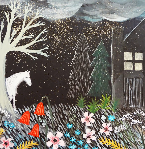 In The Night Time Painting - Bonbi Forest - 25% Off Easter Sale