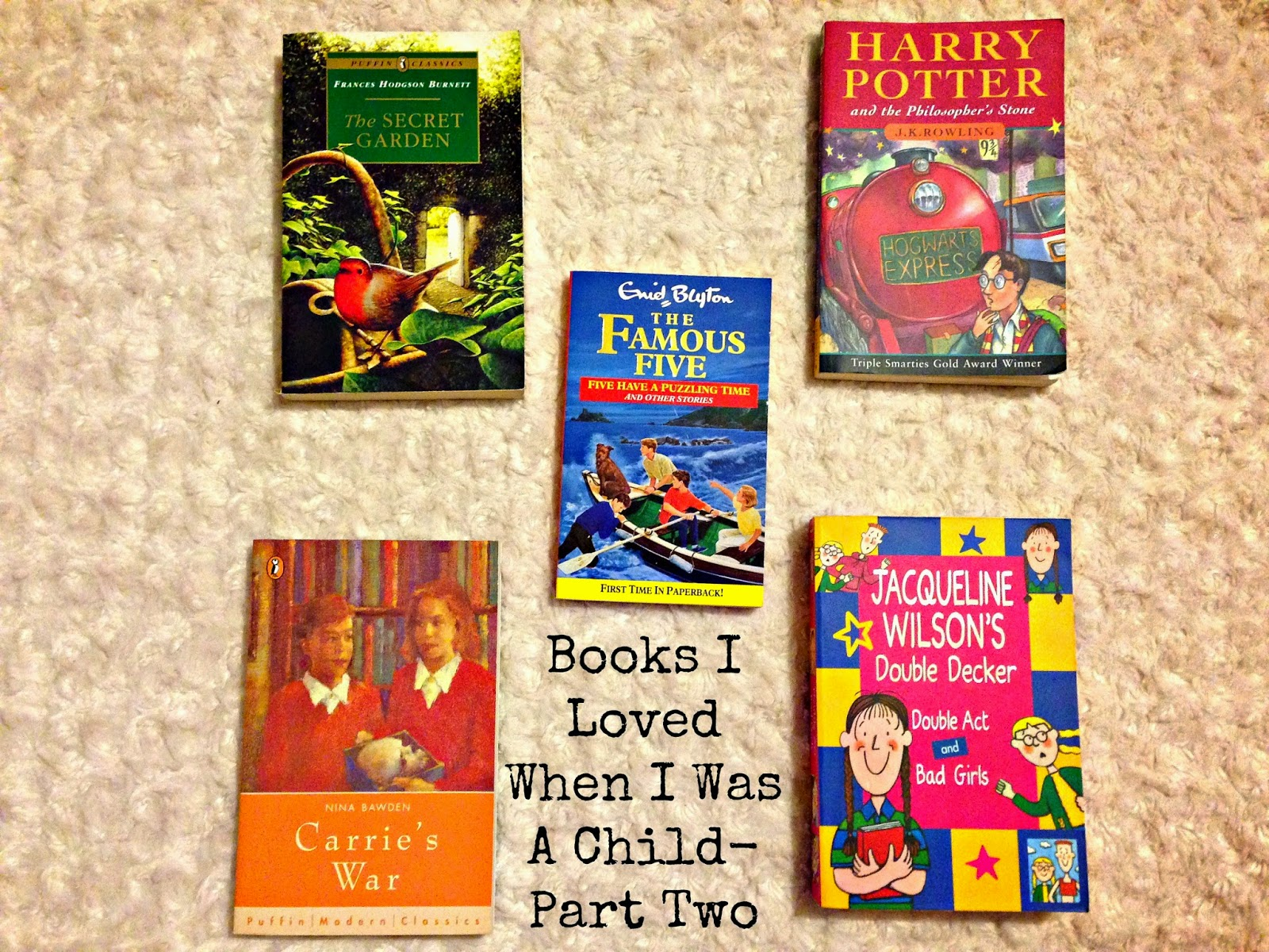 Books I Loved When I Was A Child- Part Two