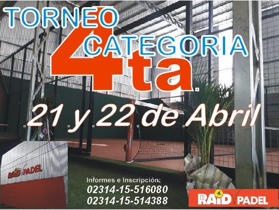TORNEO RAID PADEL