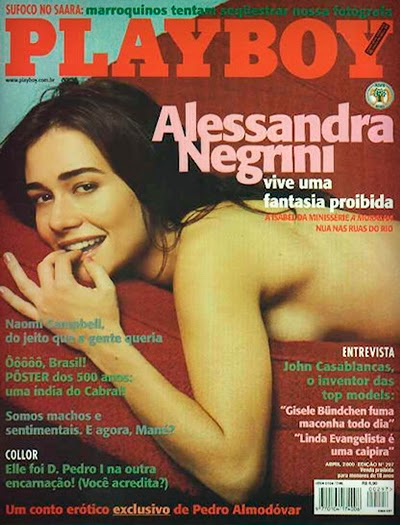 Alessandra Negrini pb Download    Alessandra Negrini   Revista Playboy