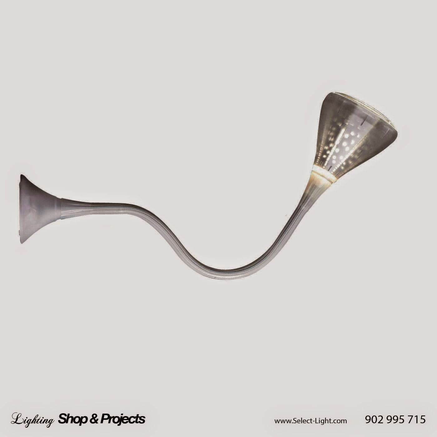 Pipe lamp by Jacques Herzog y Pierre de Meuron