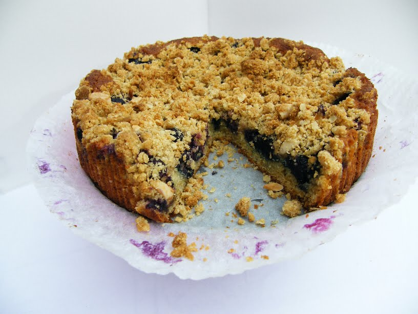 Blueberry Crumb Cake Recipes — Dishmaps
