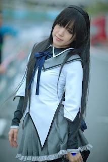 Madoka Magica Akemi Homura Cosplay by Kipi