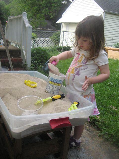 Sand For Backyard f. pea: build a backyard sand table