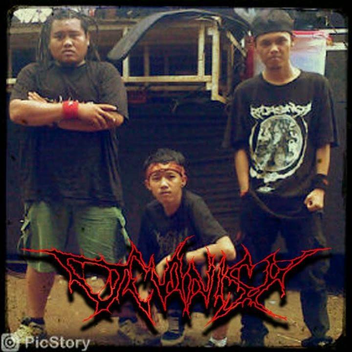 Devinisy Band Slamming Guttural Purwakarta Foto Personil Logo Wallpaper