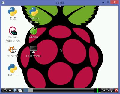 Raspberry Pi emulation for Windows