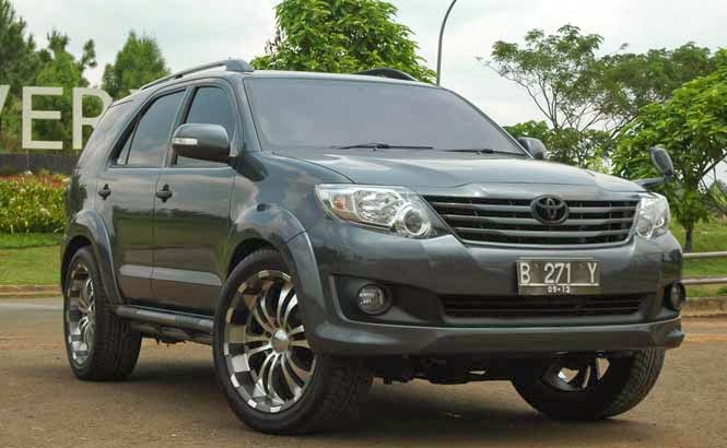 modifikasi toyota fortuner 2014