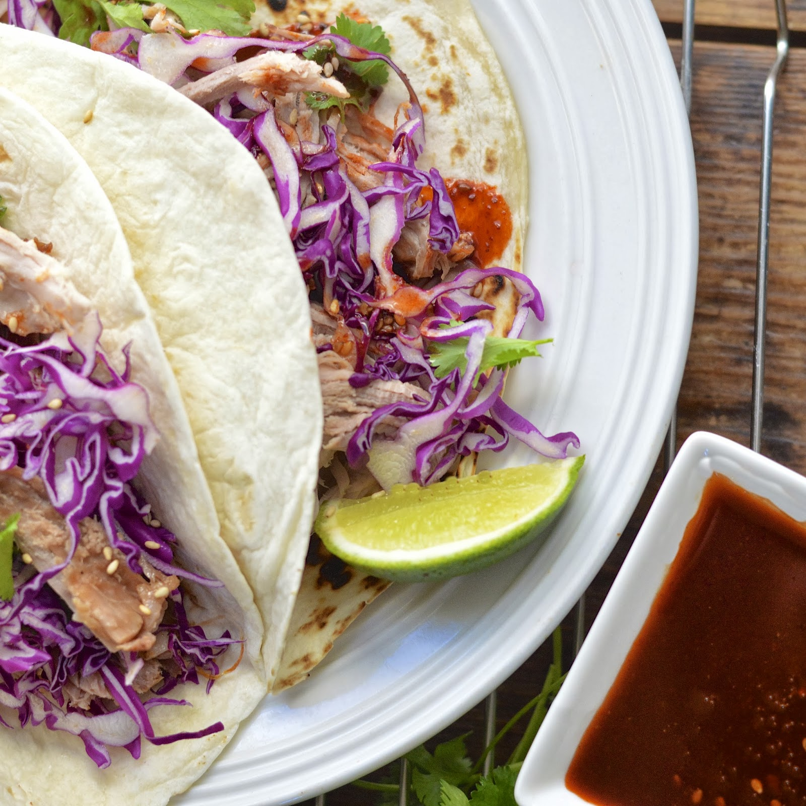 Diy Korean Bbq Sauce: Korean Tacos With Pulled Pork