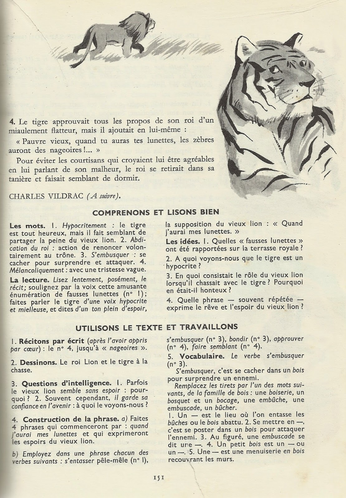 tigre plus fort que le lion