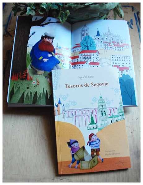 Segovia's Treasures Maria Albarran Illustration